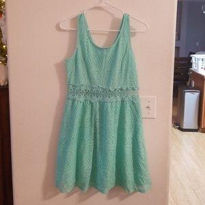 Tourqoise dress